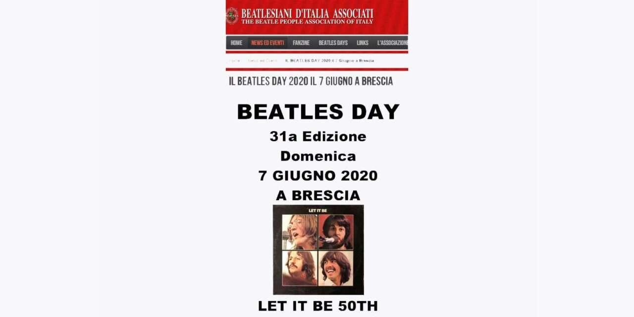 Il BEATLES DAY 2020 (31a Edizione) si farà … ONLINE!