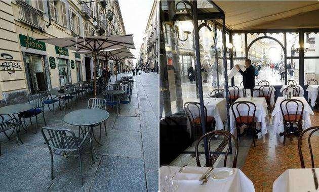 Fase 2 flop: bar e ristoranti perdono 70 euro su 100 rispetto al pre-Covid