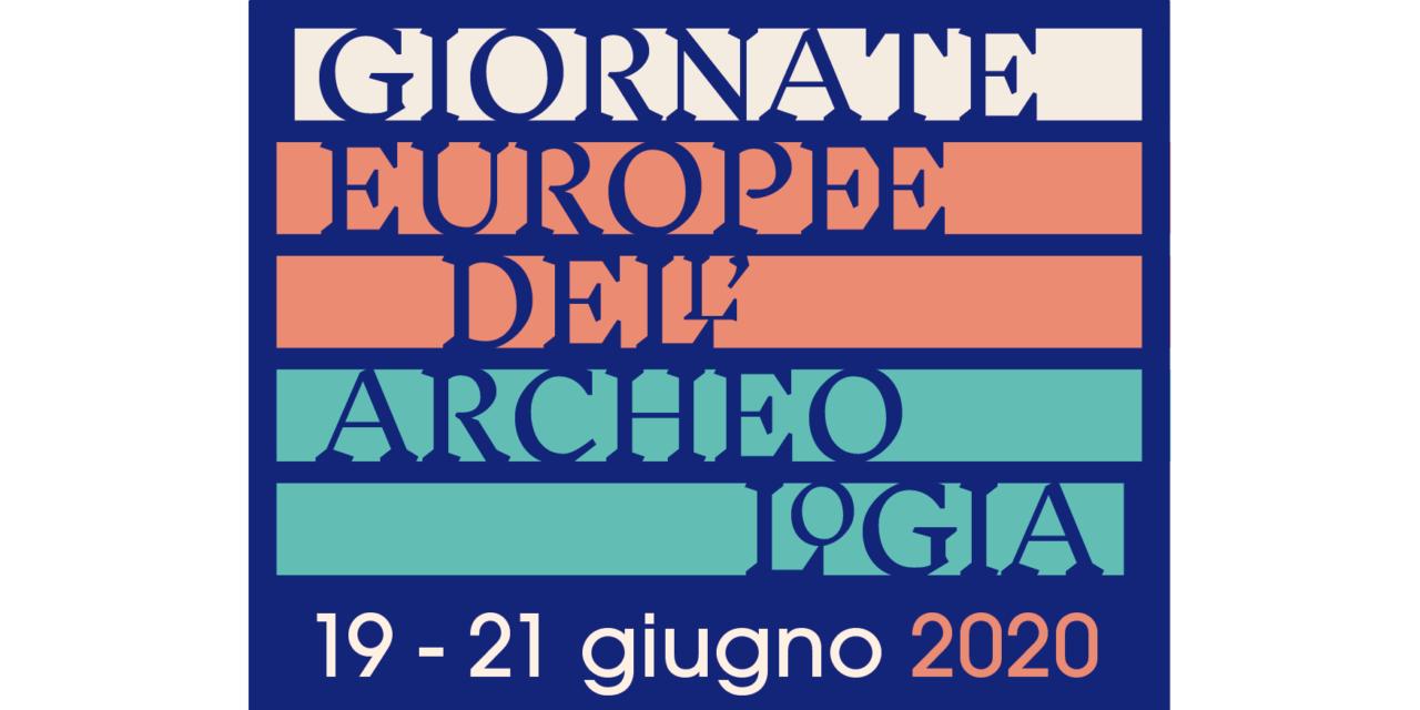 SAVE THE DATE   19-21 GIUGNO 2020   GIORNATE EUROPEE DELL'ARCHEOLOGIA   DIREZIONE REGIONALE MUSEI LOMBARDIA