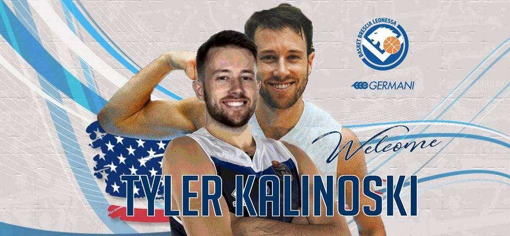 Tyler Kalinoski è la nuova guardia della Germani Basket Brescia