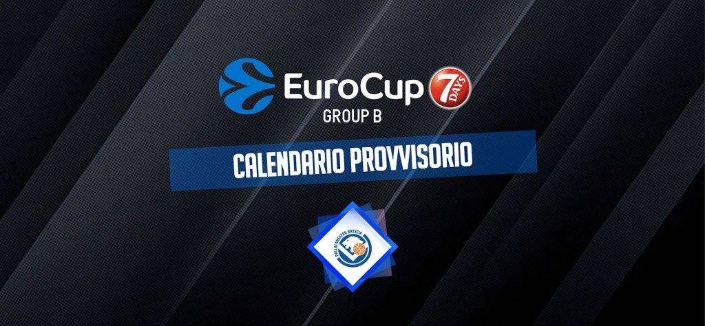 La 7DAYS EuroCup prende forma: ecco le avversarie della Germani Brescia