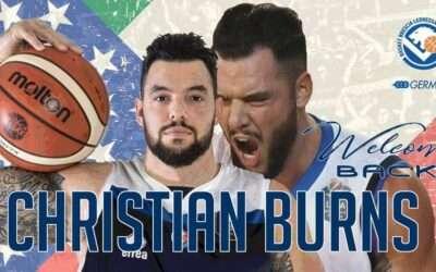 Big news come true: bentornato a Brescia, Christian Burns