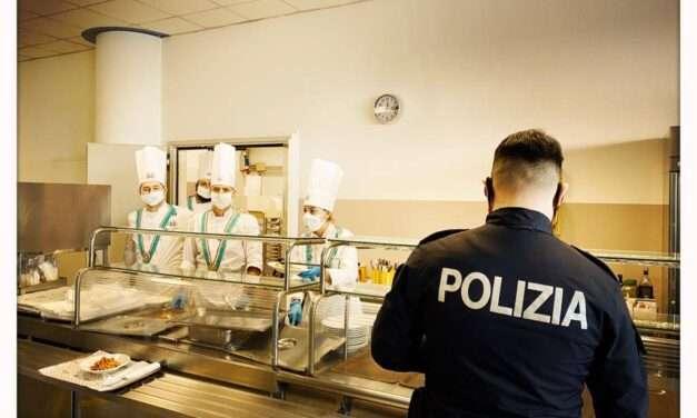 Associazione Cuochi Bresciani insieme alla Polizia di Stato per esserci sempre