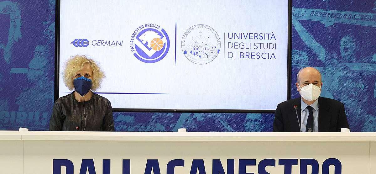 Pallacanestro Brescia e Università degli Studi di Brescia: insieme per una formazione più accurata e completa