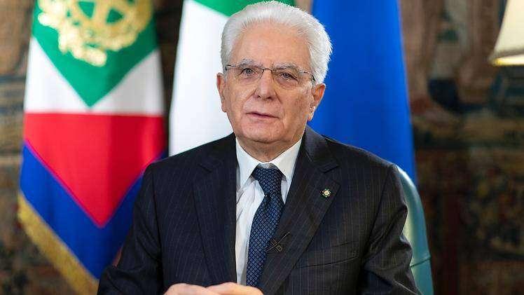Brescia   18 maggio 2021   Il Presidente della Repubblica italiana Sergio Mattarella in visita ai Musei di Brescia