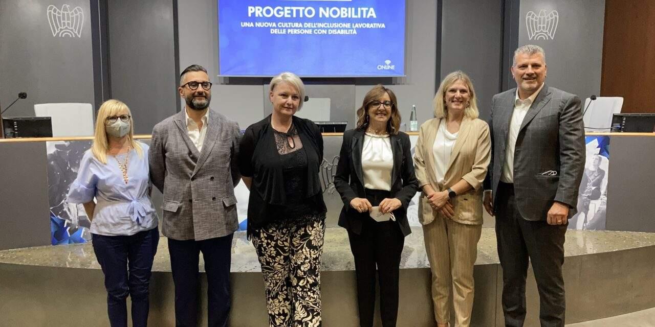 """CONFINDUSTRIA BRESCIA Comunicato – Presentato oggi il """"Progetto Nobilita. Una nuova cultura dell'inclusione lavorativa delle persone con disabilità"""""""