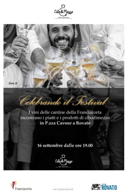"""Evento """"Cibodimezzo"""" nel contesto del Festival Franciacorta – 16 settembre"""